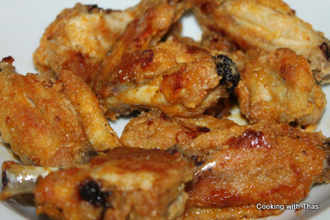 Restaurant Style Spicy Chicken Wings and it's Baked! | Cooking with ...
